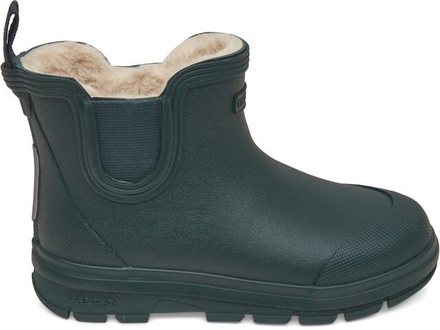 Tretorn Kids Aktiv Chelsea Winter Rubber Boots dark forest